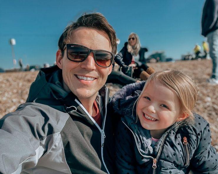Dan Betts and daughter Evie