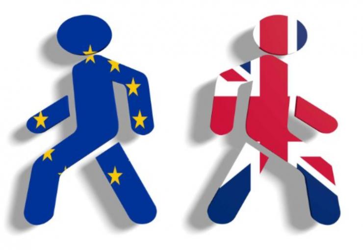 Europe and Britain separating
